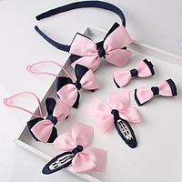 Little Girl Bow Hair Set