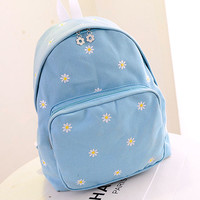 Japanese sweet daisy backpack