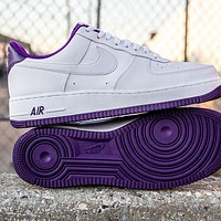 Nike Air Force 1 Low Voltage Purple Low-top All-match Casual Casual ? Sports ? Sneakers Shoes-1