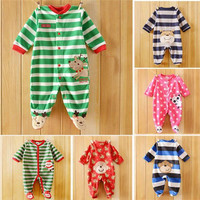 Baby Bodysuit Pack Hot Infant Cotton and Warm Baby Clothes Fashion Kids Cute Cartoon Printing and Long Sleeve and Comfortable Bodysuits