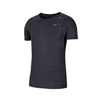 Nike Men's Techknit Ultra Running Shirt Black