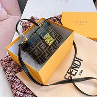 FENDI FF Box bag