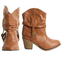 Short Cowboy Boot - Teen Clothing by Wet Seal