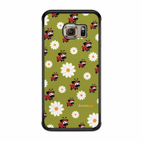 lady pug pattern case for samsung galaxy s6 s6 edge