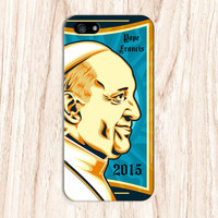 Pope Francis Papal Visit 2015 Phone Case for iPhone 6 6 Plus iPhone 5 5s 5c 4 4s Samsung Galaxy s6 s5 s4 & s3 and Note 5 4 3 2