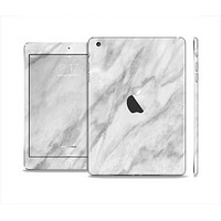 The White Marble Surface Skin Set for the Apple iPad Mini 4