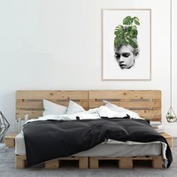 Linn Wold - Monstera Print (various sizes)