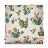 Insufferable Succulents Outdoor Throw Pillow
