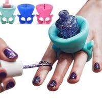 Nail Polish Holder - 5 Colors!