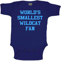 World's Smallest Wildcat fan Onesuit