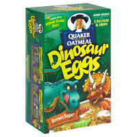 Quaker Instant Oatmeal - Brown Sugar - Dinosaur Eggs - 1 Box (8 packets) | Meijer.com