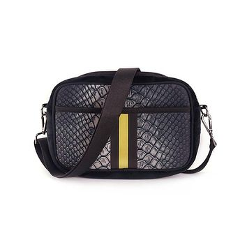 NEOPRENE CROSS BODY BAG