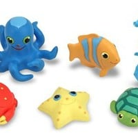 Melissa & Doug Sunny Patch Seaside Sidekicks Creature Set