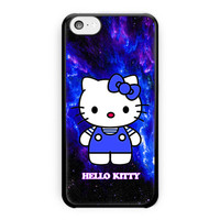 Hello Kitty Blue Galaxy Nebula iPhone 5C Case