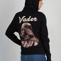 80s Mid-length Come to the Darth Side Hoodie