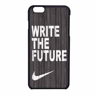 Nike Future On Wood Gray iPhone 6 Case