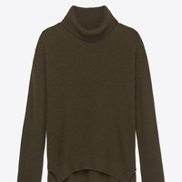 THEORY WOOL-CASHMERE TURTLENECK