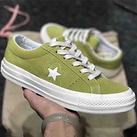 VANS 2018 men and women fashion wild belt shoes F-CSXY Green