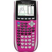 Texas Instruments TI-SEC84 Color Screen Graphing Calculator, Pink