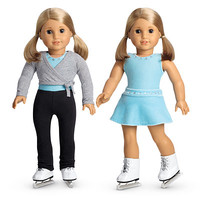 American Girl® Clothing: 2-in-1 Ice Skating Set + Charm