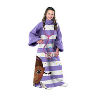 Doc McStuffins Checkup Youth Comfy Throw Blanket w/Sleeves