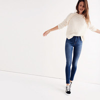 "10"" High-Rise Skinny Jeans in Danny Wash"