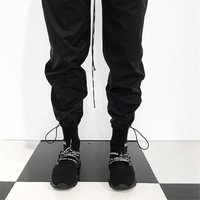 Men women long pants hip hop fear of god kanye west jogger streetwear harajuku loose trousers sweatpants patns cargo pants