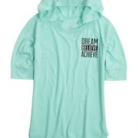 Positive Message Hooded Tee | Girls Tops Clothes | Shop Justice