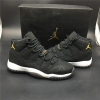 Air Jordan 11 Retro PREM HC Black Pearl 852625-030 Size 36---47