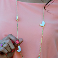 Heart Of The Matter Necklace: Ivory | Hope's