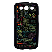one direction song Samsung Galaxy S3 Case