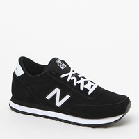 New Balance Classic All Suede Sneakers - Womens Shoes - Black