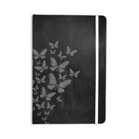 """Snap Studio """"Butterflies IV"""" White Chalk Everything Notebook"""