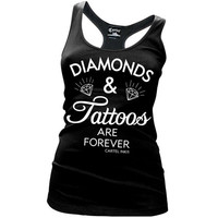 Diamonds and Tattoos Are Forever Racer Tank