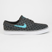 Nike Sb Zoom Stefan Janoski Canvas Premium Mens Shoes Charcoal  In Sizes