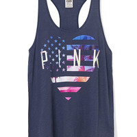 4th of July Racerback Tank - PINK - Victoria's Secret