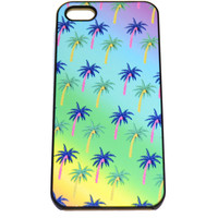 Cyber Palm Tree Iphone Case - CYBER PALM TREE IPhone