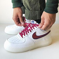 Samplefine2 Nike Air Force 1 Fashion Women Men Casual Sport Running Shoes Sneakers