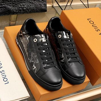 lv louis vuitton womans mens 2020 new fashion casual shoes sneaker sport running shoes 362