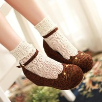 Women Japanese Lolita Cosplay shoes Round Toe Princess Woman Girl Cos Cosplay Shoes