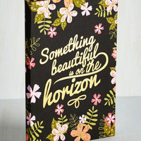 Sayings Artistic Liberation Notebook by ModCloth