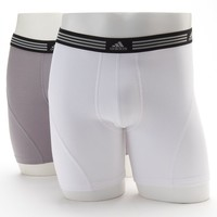 adidas 2-pack ClimaLite Athletic Stretch Boxer Briefs