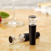 Red Wine Champagne Bottle Preserver Air Pump Stopper Vacuum Sealed Saver,Wine vacuum stopper