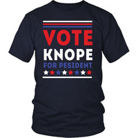 Parks and Recreation T Shirt -  Vote Knope For President - TV & Movies