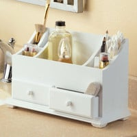 New Wooden Beauty Make-up Jewelry Organizer w/Compartments Drawers for Stoage