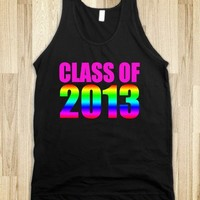 Class of 2013 Rainbow Tank - Underline Designs