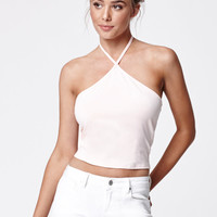 LA Hearts Lovely Cropped Halter Tank Top at PacSun.com