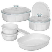 Corningware 6018696 French 6-Piece Bakeware Set - Only 6 Pc Included