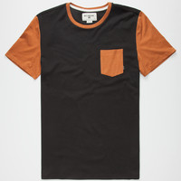 BILLABONG Zenith Mens Pocket Tee | Solid & Stripe Tees