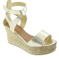 Milada-02 Criss-Cross Wedge